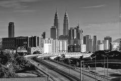 Paisaje urbano de Kuala Lumpur Fotos de archivo
