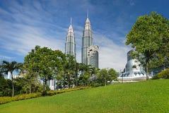 Paisaje urbano de Kuala Lumpur Foto de archivo libre de regalías