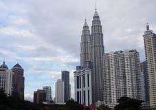 Paisaje urbano de Kuala Lumpur malasia Foto de archivo libre de regalías