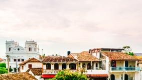 Paisaje urbano de la ciudad vieja colonial de Galle, Sri Lanka fotos de archivo libres de regalías