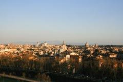 Paisaje urbano de la parte antigua de Roma Foto de archivo