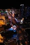 Paisaje urbano de Las Vegas Imagen de archivo libre de regalías