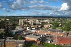 Paisaje urbano de Leeds Foto de archivo libre de regalías