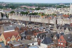 Paisaje urbano de Lille en Francia Fotos de archivo