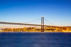 Paisaje urbano de Lisboa Imágenes de archivo libres de regalías
