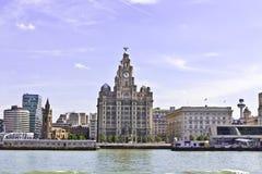 Paisaje urbano de Liverpool, Reino Unido Foto de archivo