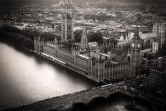 Paisaje urbano de Londres imagen de archivo