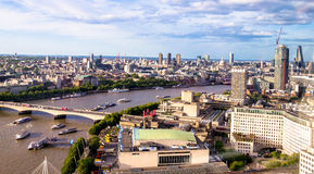 Paisaje urbano de Londres Imagenes de archivo