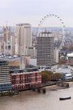 Paisaje urbano de Londres, Inglaterra Imagenes de archivo