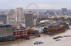 Paisaje urbano de Londres, Inglaterra Fotos de archivo