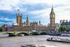 Paisaje urbano de Londres inglaterra Fotografía de archivo libre de regalías