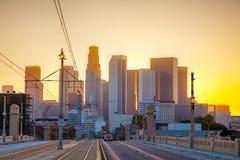 Paisaje urbano de Los Ángeles Imagen de archivo libre de regalías