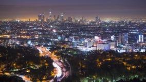 Paisaje urbano de Los Ángeles almacen de video