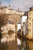 Paisaje urbano de Luxemburgo Imagen de archivo libre de regalías