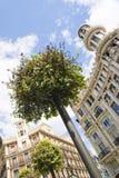 Paisaje urbano de Madrid Foto de archivo libre de regalías