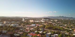 Paisaje urbano de Managua del panorama imágenes de archivo libres de regalías