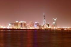 Paisaje urbano de Manama Imagenes de archivo