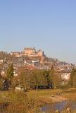 Paisaje urbano de Marburg Fotografía de archivo libre de regalías