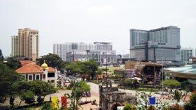Paisaje urbano de Melaka en Malasia Fotografía de archivo
