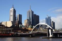 Paisaje urbano de Melbourne Imagen de archivo