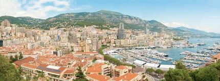 Paisaje urbano de Monte Carlo Fotografía de archivo libre de regalías