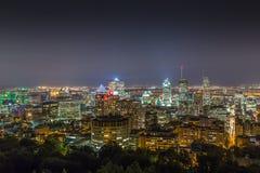 Paisaje urbano de Montreal Imagen de archivo libre de regalías