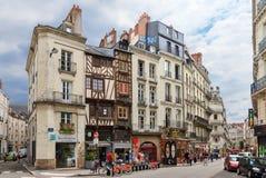 Paisaje urbano de Nantes foto de archivo libre de regalías