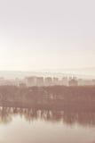 Paisaje urbano de Novi Sad Fotos de archivo libres de regalías