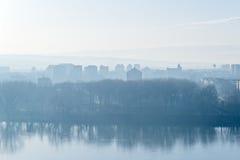 Paisaje urbano de Novi Sad Fotografía de archivo