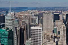 Paisaje urbano de Nueva York Imagen de archivo libre de regalías