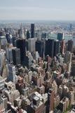 Paisaje urbano de Nueva York fotografía de archivo