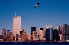 Paisaje urbano de Nueva York fotografía de archivo libre de regalías