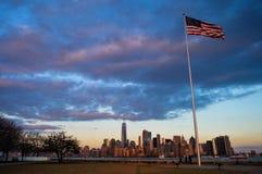 Paisaje urbano de Nueva York Foto de archivo libre de regalías