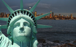 Paisaje urbano de Nueva York, fotografía del concepto del turismo fotos de archivo libres de regalías