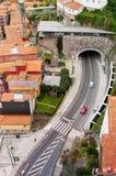 Paisaje urbano de Oporto moderno portugal Fotos de archivo