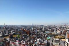 Paisaje urbano de Osaka, Japón Foto de archivo