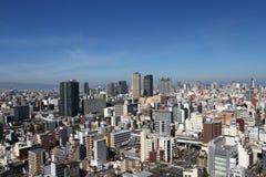 Paisaje urbano de Osaka, Japón Fotos de archivo