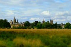 Paisaje urbano de Oxford Foto de archivo libre de regalías