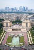 Paisaje urbano de París Imagen de archivo libre de regalías