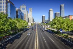 Paisaje urbano de Pekín Fotos de archivo