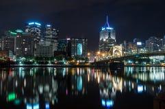 Paisaje urbano de Pittsburg Fotos de archivo