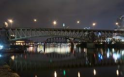 Paisaje urbano de Pittsburg Imagen de archivo libre de regalías