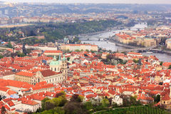 Paisaje urbano de Praga, Praga Imagen de archivo libre de regalías