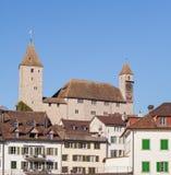 Paisaje urbano de Rapperswil Fotografía de archivo libre de regalías