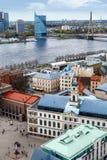 Paisaje urbano de Riga Fotografía de archivo