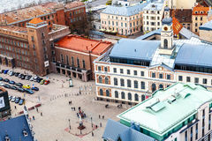 Paisaje urbano de Riga Imagen de archivo