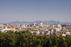 Paisaje urbano de Roma Foto de archivo libre de regalías