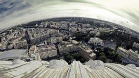 Paisaje urbano de Roma Foto de archivo