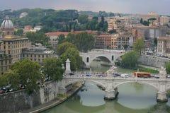 Paisaje urbano de Roma, Italia Imagen de archivo