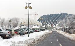 Paisaje urbano de Rzeszow, Polonia Imagenes de archivo